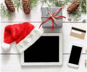 Online Shopping zur Weihnachtszeit