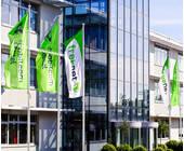Der Firmensitz von Freenet in Büdelsdorf
