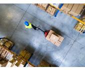 Päckchen im Logistikzentrum