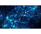 Digitalisierte Cloud-Wolke
