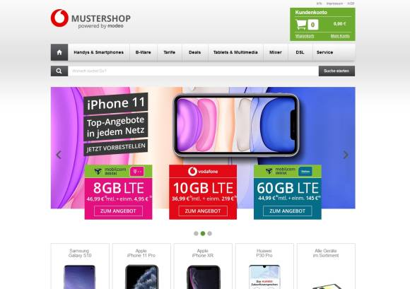 Mustershop Motion TM