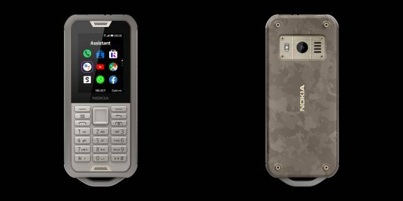 Das Nokia 800 Tough