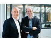 Stefan Herrlich (li.) und Ralf Koenzen von Lancom
