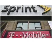 Logos von T-Mobile und Sprint