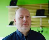 Nico Kutschenreuter, Geschäftsführer des Systemhauses Kutschenreuter Communication in Berlin