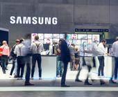 Samsung-Auftritt auf der IFA