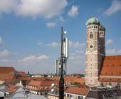 5G-Standort von Telefónica in München