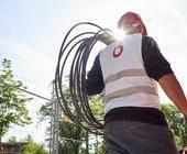 Vodafone baut die Kabelnetze aus