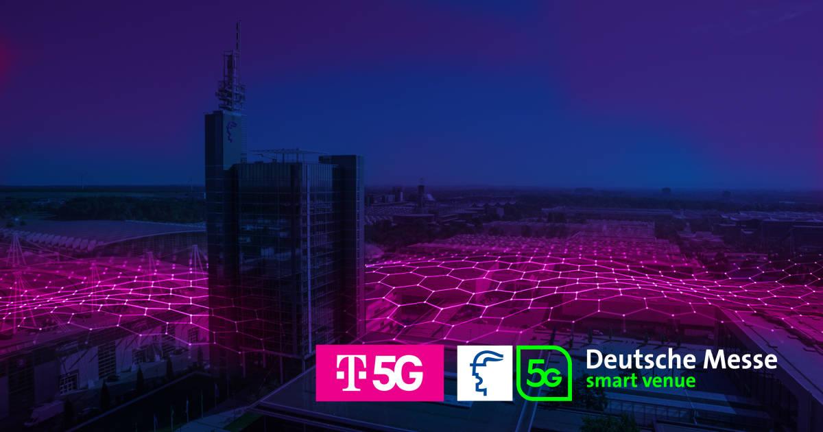 Telekom errichtet großes 5G-Campusnetz