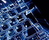 Beleuchtete Tastatur