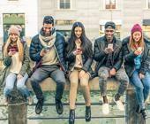 Junge Menschen mit Migrationshintergrund