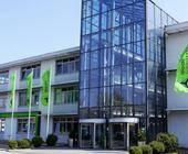 Der Freenet-Firmensitz in Büdelsdorf