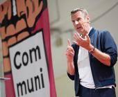 Ex-Telekom-Deutschland-Chef Niek Jan van Damme war einer der Keynote-Speaker auf der Communicate!