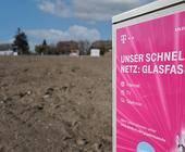 Glasfaser-Ausbaugebiet der Deuschen Telekom