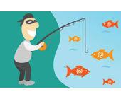 Phishing-Attacken sind erfolgreicher als viele denken. Durchschnittlich geht den Betrügern jeder siebte Anwender auf den Leim. Besonders effektive Fakes erreichen Erfolgsquoten von bis zu 45 Prozent.