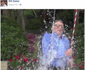 Bill Gates bei der Ice Bucket Challenge