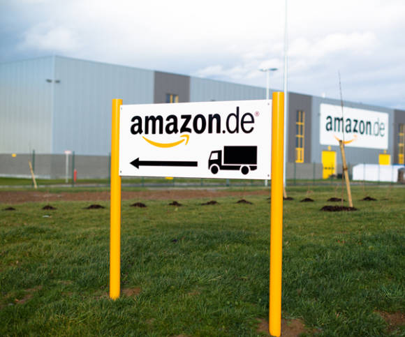 Logistikcenter von Amazon