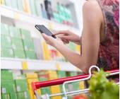 Einkauf im stationären Laden via Smartphone