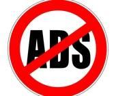 Verkehrsschild Werbeverbot