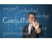 Consulting wird mit Stift aufgeschrieben