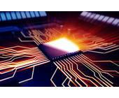 Leuchtender Prozessor