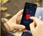 e-Health-App auf Smartphone