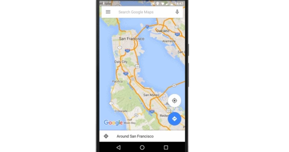 google maps nun auch mit offline navigation telecom. Black Bedroom Furniture Sets. Home Design Ideas