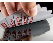 Ein Royal Flush beim Poker