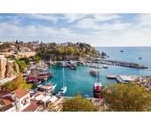 Die Altstadt in Antalya