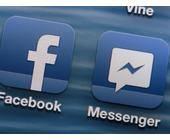Facebook und Messenger App