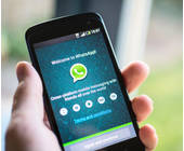 WhatsApp-App auf Smartphone