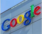 Google Logo an einer Hauswand