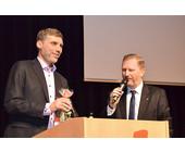 HFO-Chef Hager mit Johannes Pruchnow von der Telekom