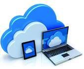Cloud mit Endgeräten