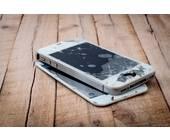 Beschädigtes iPhone