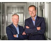Michael Born (li.) und Michael Boelke, die Geschäftsführer von Agfeo