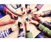 Hände Smartphones