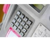 Öffentliches Telefon der Telekom