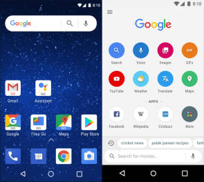 Googe Android Go Edition