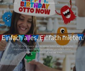 Website von Otto Now