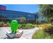 Google-Konzernzentrale in Mountain View