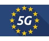 5G in Europaflagge