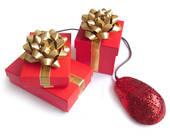 Online Shopping zu Weihnachten